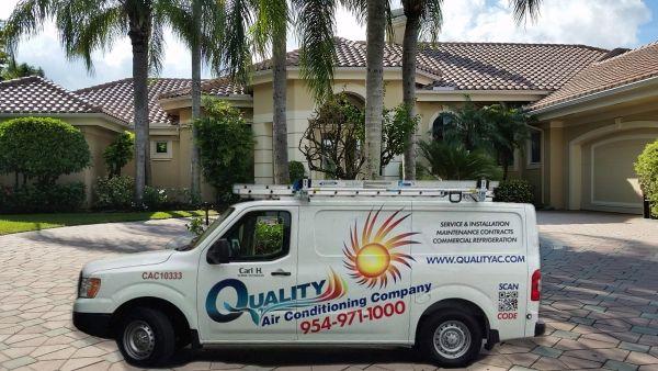 Quality A/C service call
